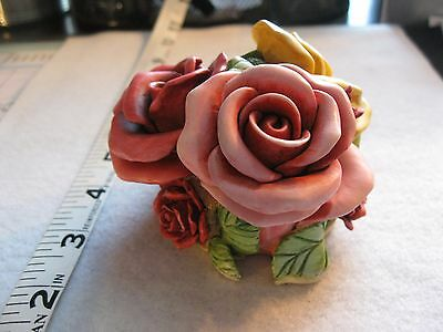 Lord Byron's Harmony Garden Parade Of Gifts Roses Figurine 4340/5000