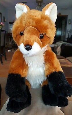 "Build A Bear Red Fox 16"" Plush Stuffed Animal St Louis Zoo Exclusive Limited EUC"