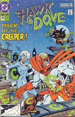 Hawk and Dove (1989 series) #18 in Very Fine condition. FREE bag/board