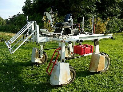 Spirit 482 vegetable self propelled agriculture sprayer strawberry squash punkin