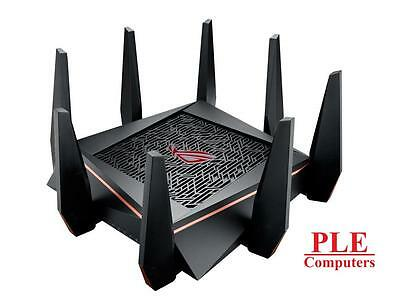 ASUS ROG Rapture GT-AC5300 802.11ac Tri-Band Wireless-AC5300 Gigabit Gaming R..