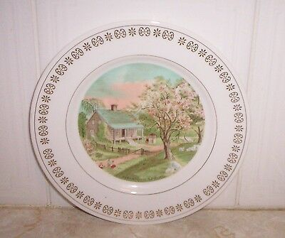 Four Seasons Wall Plate set of four