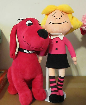 2 Big Clifford Red Dog  Plush Characters