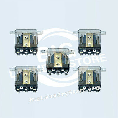 5 x Relay 24V for Huebsch, Speed Queen Dryers - NEW - Part # 70210901P