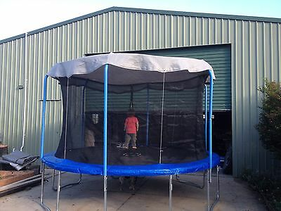 Shade Curtain for your trampoline made to your size