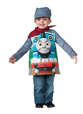 NEW THOMAS TANK TODDLER Costume Halloween, Dress-Up Clothes Size 4-6