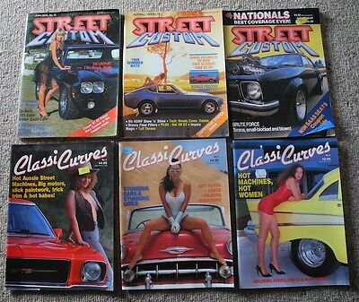 STREET and CUSTOM plus CLASSIC CURVES Magazines