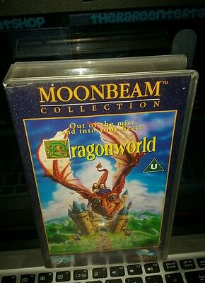 Dragonworld Sam Mackenzie John Calvin Rare Vhs Pal Uk Video