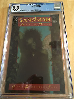 Sandman 8 CGC 9.0 White Pages 1st Appearance of Death