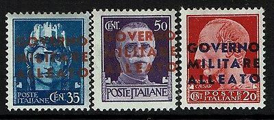 Italy SC# 1N10, 1N11 and 1N13, Mint Never Hinged - Lot 020517
