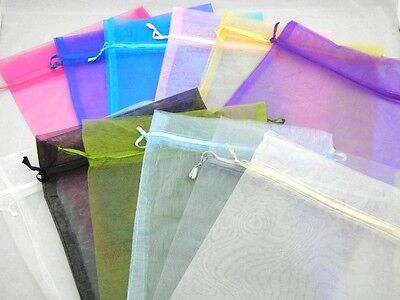 20pcs Mixed 20*30cm Large organza Jewelry Gift Packing Wedding Favour Bags Pouch