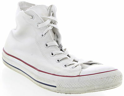 Unisex CONVERSE ALL STAR White Athletic Shoes Size 12 Men 14 Womens