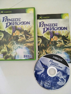 Panzer Dragoon Xbox Pal Game With Instructions
