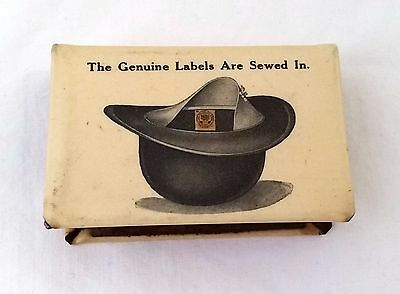 Celluloid Matchbook THE UNITED HATTERS  North America Bastian Bros Rochester NY