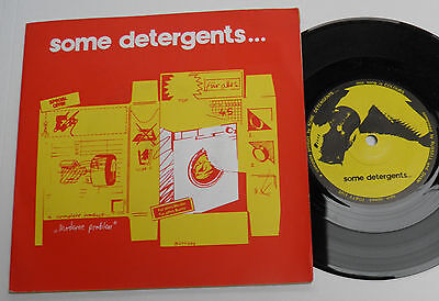"Some Detergents-Colours-UK 7""-DIY Private Minimal Synth Wave Ellie Jay-1982-HEAR"