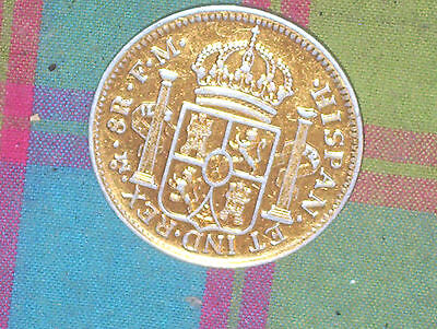 "YAGO wine coin 1970s gold toned ""A Spanish Treasure"""