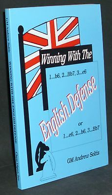 Winning With the English Defense by GM Andrew Soltis (Chess Book)