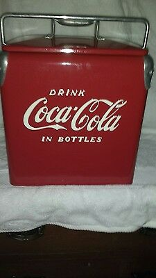 Coca cola cooler vintage coke ice chest-
