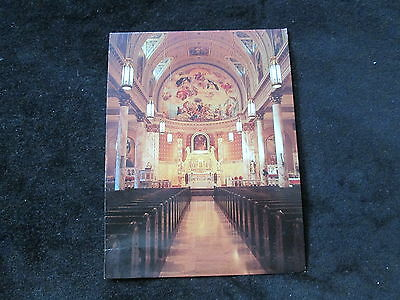 Shrine-Church of Our Lady of Pompei  Interior   (New York)  Larger Card