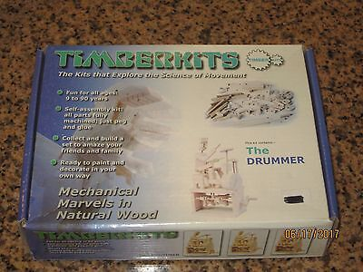 Timberkits Drummer [Toy] Wood Assembly Kit