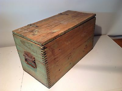 Rustic Vintage Ammo Wooden Box