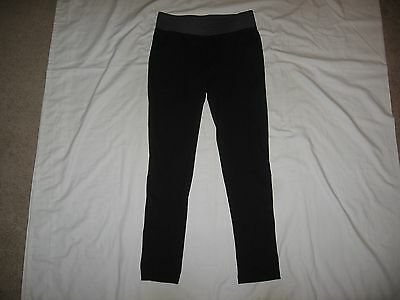 "Kyodan Women's Black Athletic Yoga Pants Size M Waist 29""-31"" Inseam 29"""
