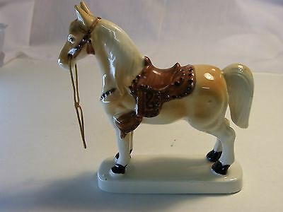Horse figurine made in japan