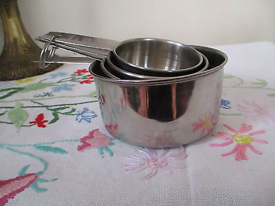 Stainless Steel Cooks Weight Measures In Saucepan Design Set Of 4