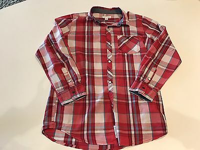Boys Pumpkin Patch Checked Shirt Size 12