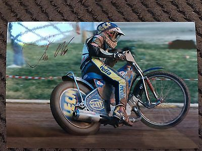 Hand Nielsen Signed Speedway Photo