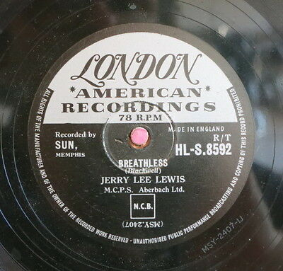 Jerry Lee Lewis / Breathless & Down The Line (9-0615)