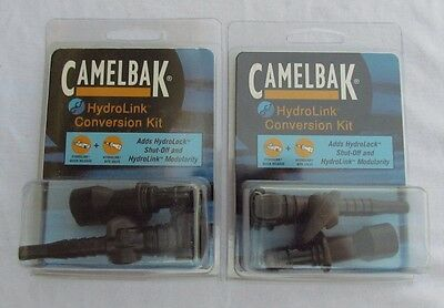 Set of 2 CamelBak Hydration HydroLink Conversion Kits w/ Bite Valve NEW