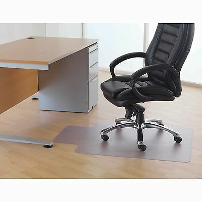 Floortex PVC Chairmat 920 x 1210mm for Hard Floor, Lipped