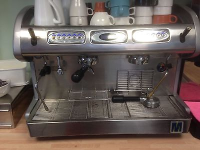 Macco 2 Group Expresso Coffee Machine