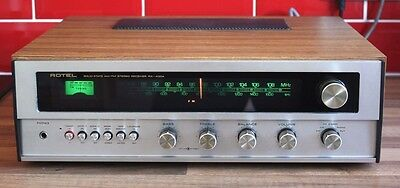 Rotel RX-400A Solid State AM/FM Stereo Receiver/Amplifier