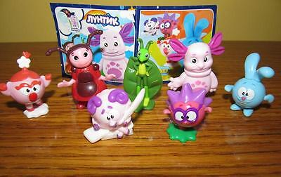 Kinder surprise egg set: Luntik, luntic & Smeshariki, Kikoriki 7 toys figures