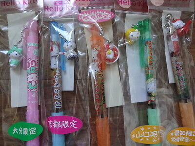 Hello Kitty 5 Gotochi Ballpoint Pen Set by Sanrio Japan Japanese Limited Set 4