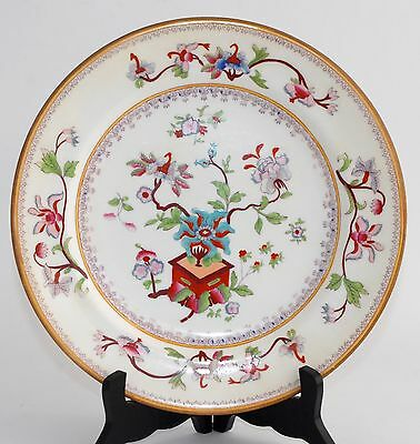 1885 Royal Worcester INDIAN TREE / Chinoiserie Plate #5969 (26.2cm) Hand Painted