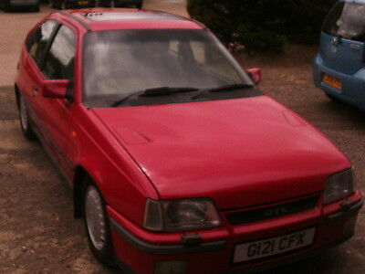 Mk2 Vauxhall Astra Gte Barn Find Spares Or Repair Only Restoration Project
