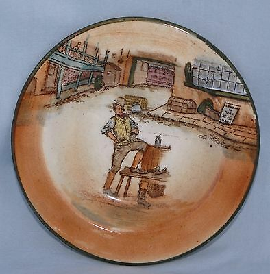 Vintage Royal Doulton Dickens Ware SAM WELLER Butter/Pin Dish