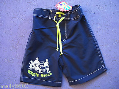 Wiggles -  Boys - Board Shorts - Boardies - Size 1, 2, 3, 4