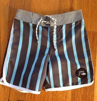 Boys Quiksilver Board Shorts. Size 4. Brand New Without Tags.