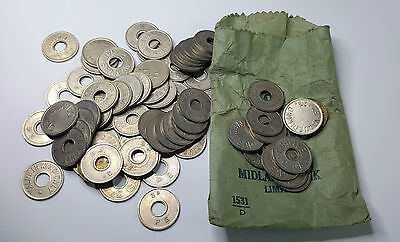Vintage Gainesmead & Other Gaming Tokens - Job Lot