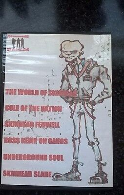 RARE SKINHEAD COMPILATION DVD (5* suedehead 1969 retro  OI documentary Ross Kemp