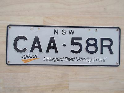 License plate Number plate NSW CORPORATE PASSENGER PLATE