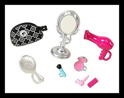 NEW! Barbie Doll House Makeup Beauty Set Accessory Pack