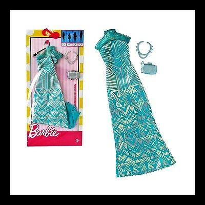 NEW Barbie Complete Look Fashion Pack, Geometric Lace Long Dress