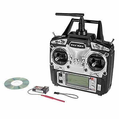 FlySky FS-T6 2.4G Helicopter Digital Proportional 6 Channel Transmitter and by
