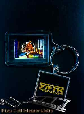 The Fifth Element - 35mm Film Cell Movie KeyRing and Pendant Keyfob Gift