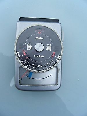 Vintage Toshiba linear light meter for photography